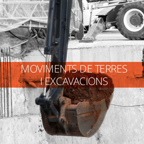 Moviment de terres i excavacions