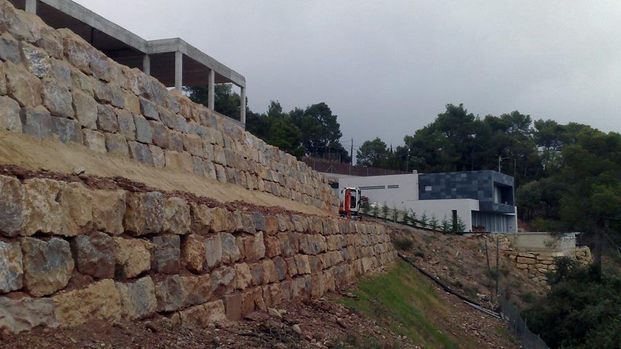 Murs d'escullera