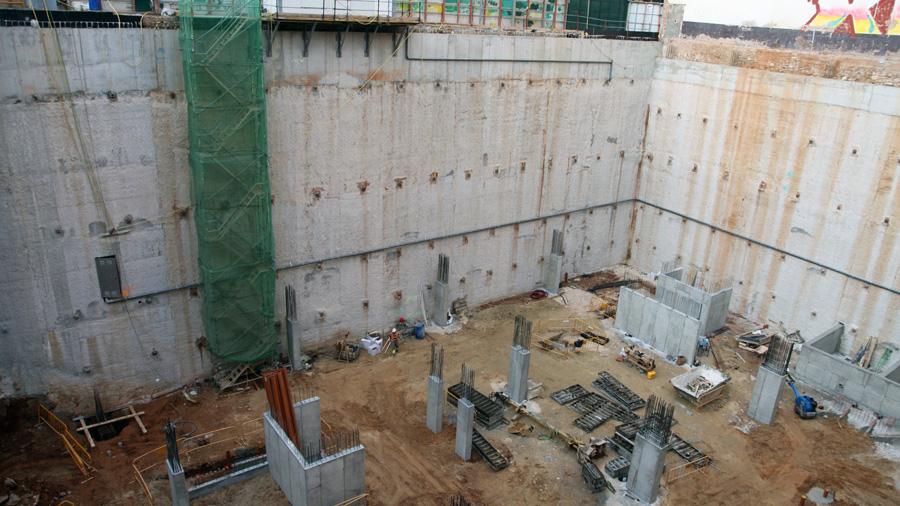Edificación Hercal: Murs Pantalla
