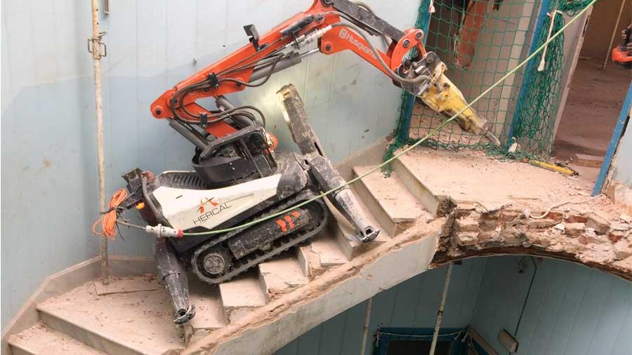Demoliciones técnicas Hercal