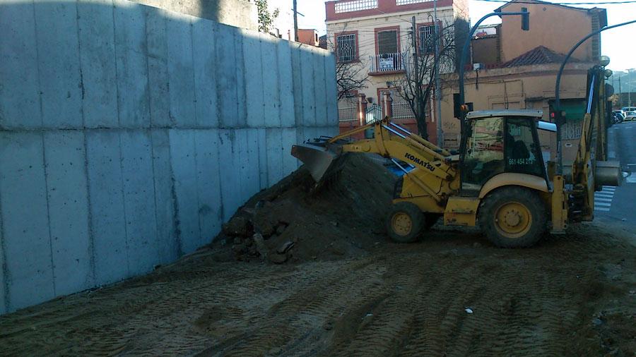 Execució-obres-del-carrer-Santiago-Rusiñol-Hercal