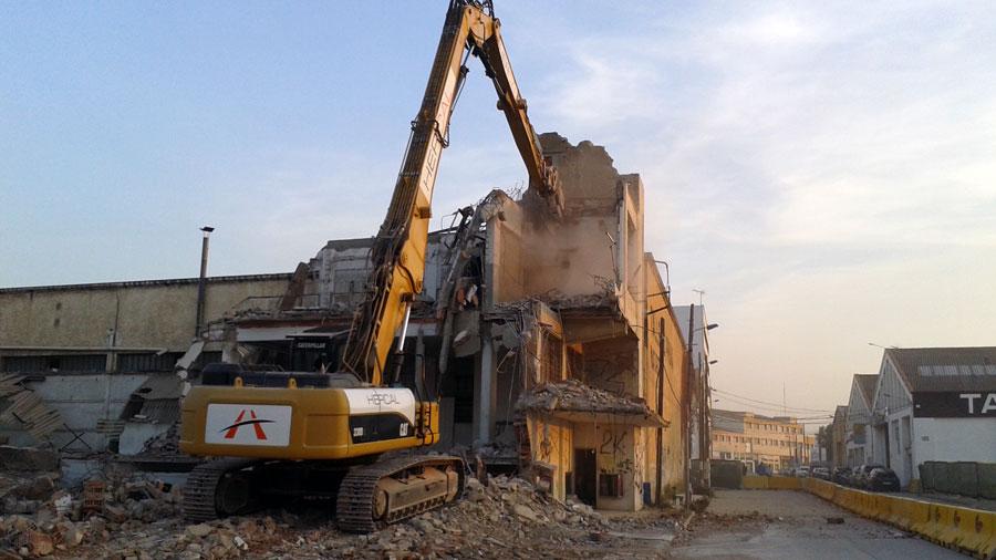 Demolició D'edificacions