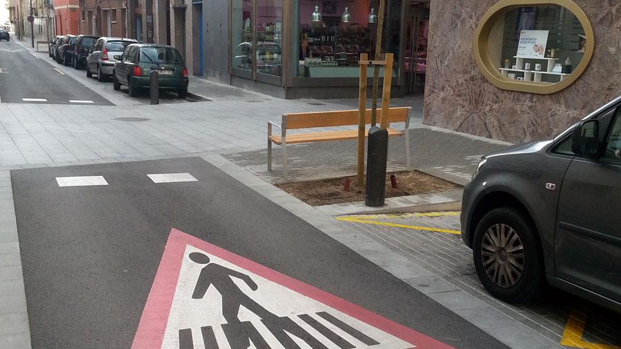 Projecte de reurbanització del carrer Riera d'en Matamoros, a Badalona.