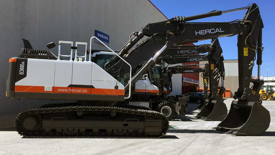 Excavadoras Volvo Hercal
