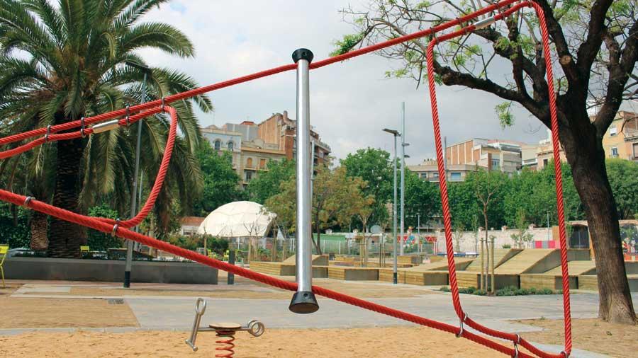 Hercal: Renovació De La Plaça De Les Germanetes, A Barcelona