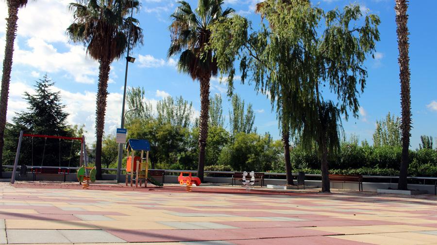 Construcción de parques y equipamientos