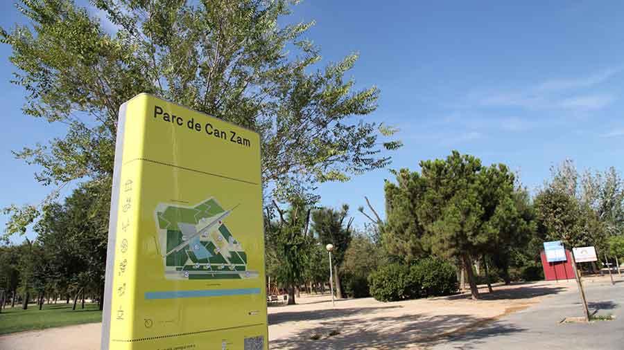 Obras De Mejora Del Parque De Can Zam. Hercal Ejecuta La Fase 1
