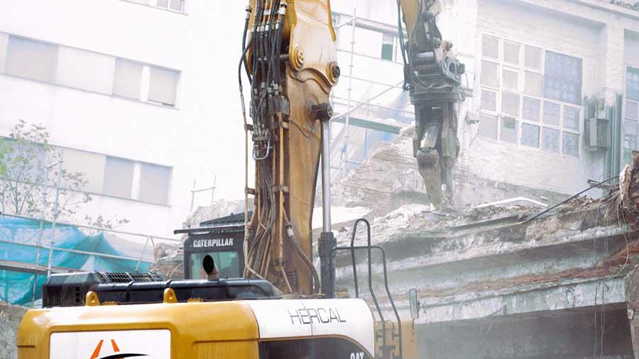 Enderrocs i demolicions Hercal