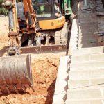 Hercal: Excavacions i moviment de terres