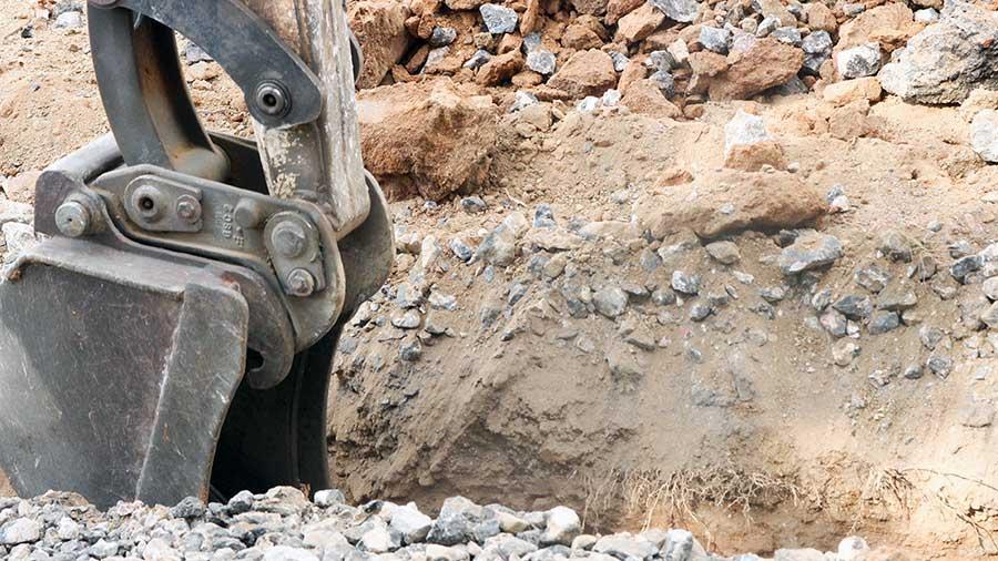 Excavaciones para proyecto de urbanización