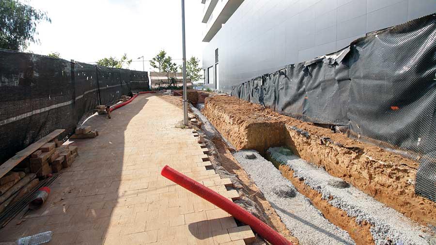 Obras de urbanización. Hercal Proyectos de obra civil