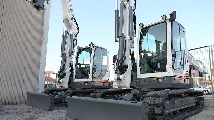 Hercal adquiere dos nuevas excavadoras Wacker Neuson ET90