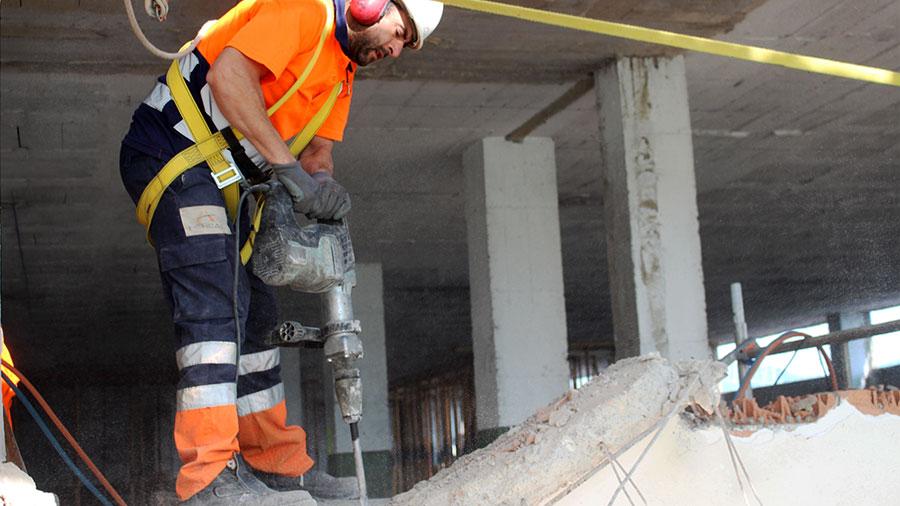 Enderrocs i demolicions a Barcelona