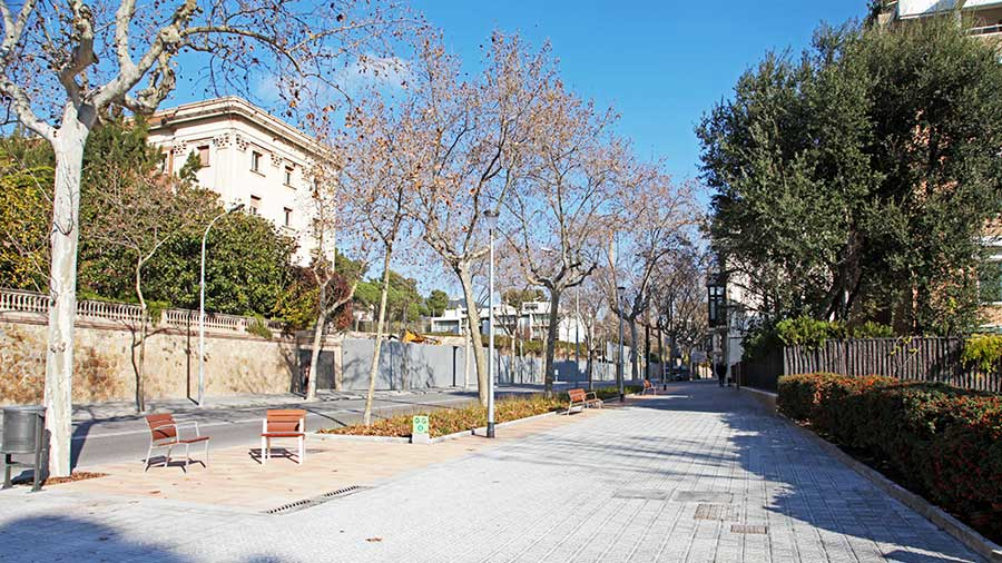 Obras De Urbanización En Barcelona