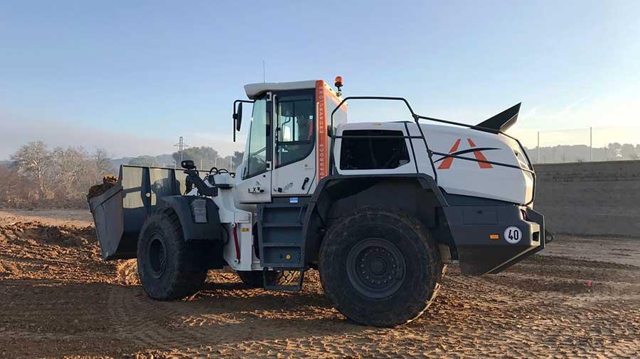 Nueva pala cargadora Liebherr L556 XPower