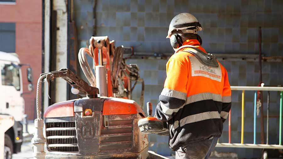 Demolició Mercat En Barcelona