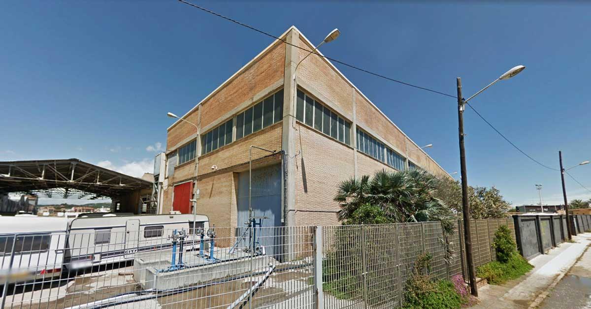 Derribo De La Antigua Fábrica Henkel En Malgrat De Mar