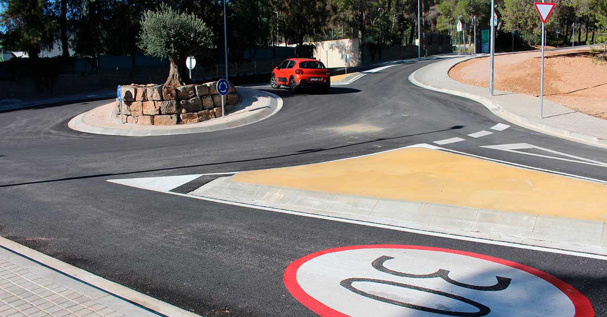 Rotonda A Castelldefels 2